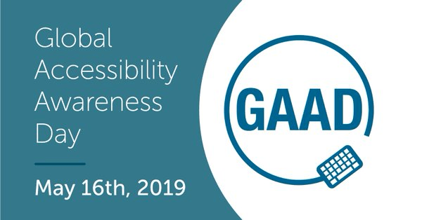 global accessibility awareness day may 16th 2019